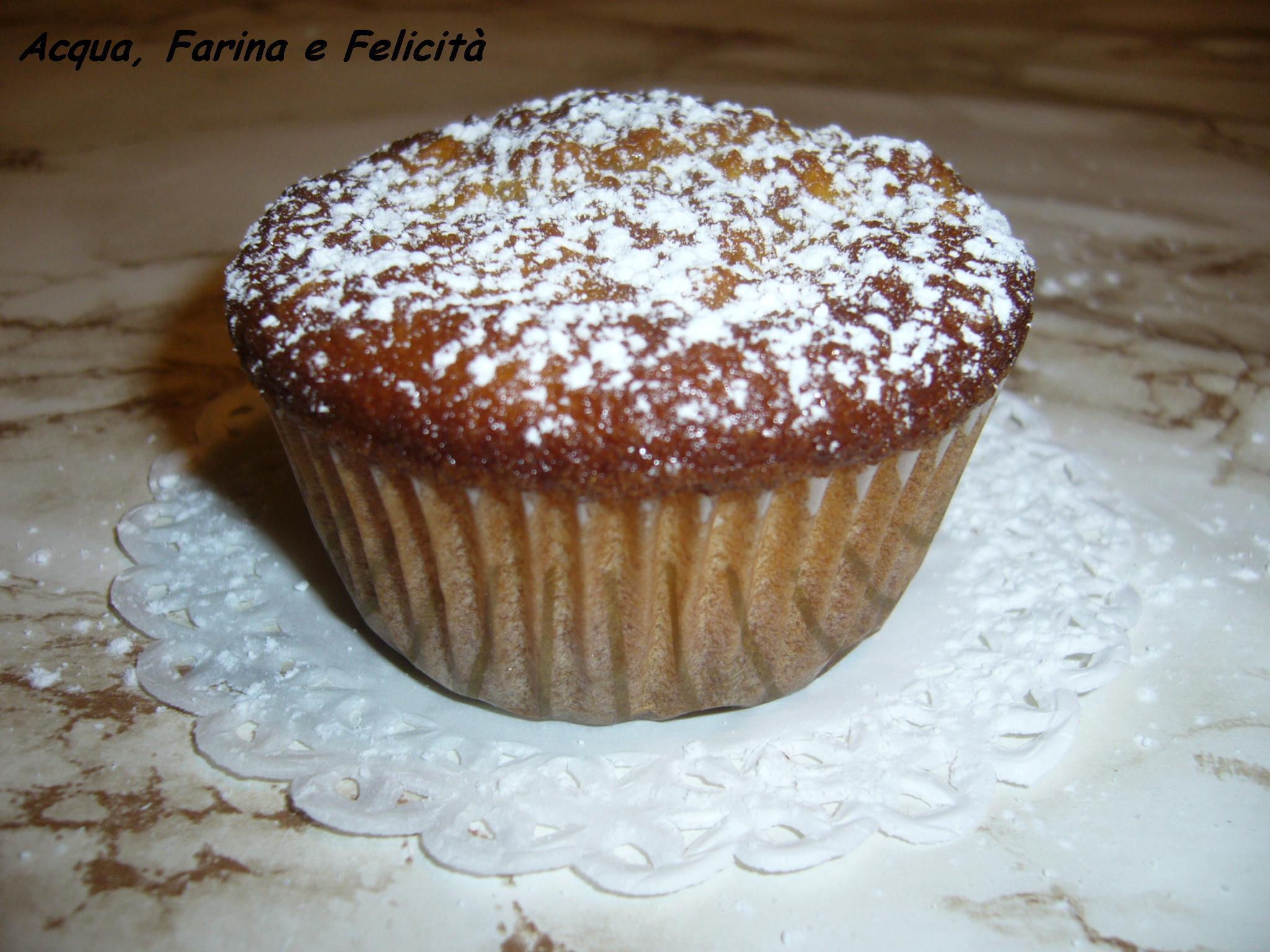 muffin senza burro alle mele