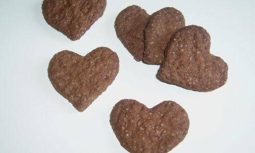 Biscotti Vegan al Cacao – senza burro, senza latte e senza uova