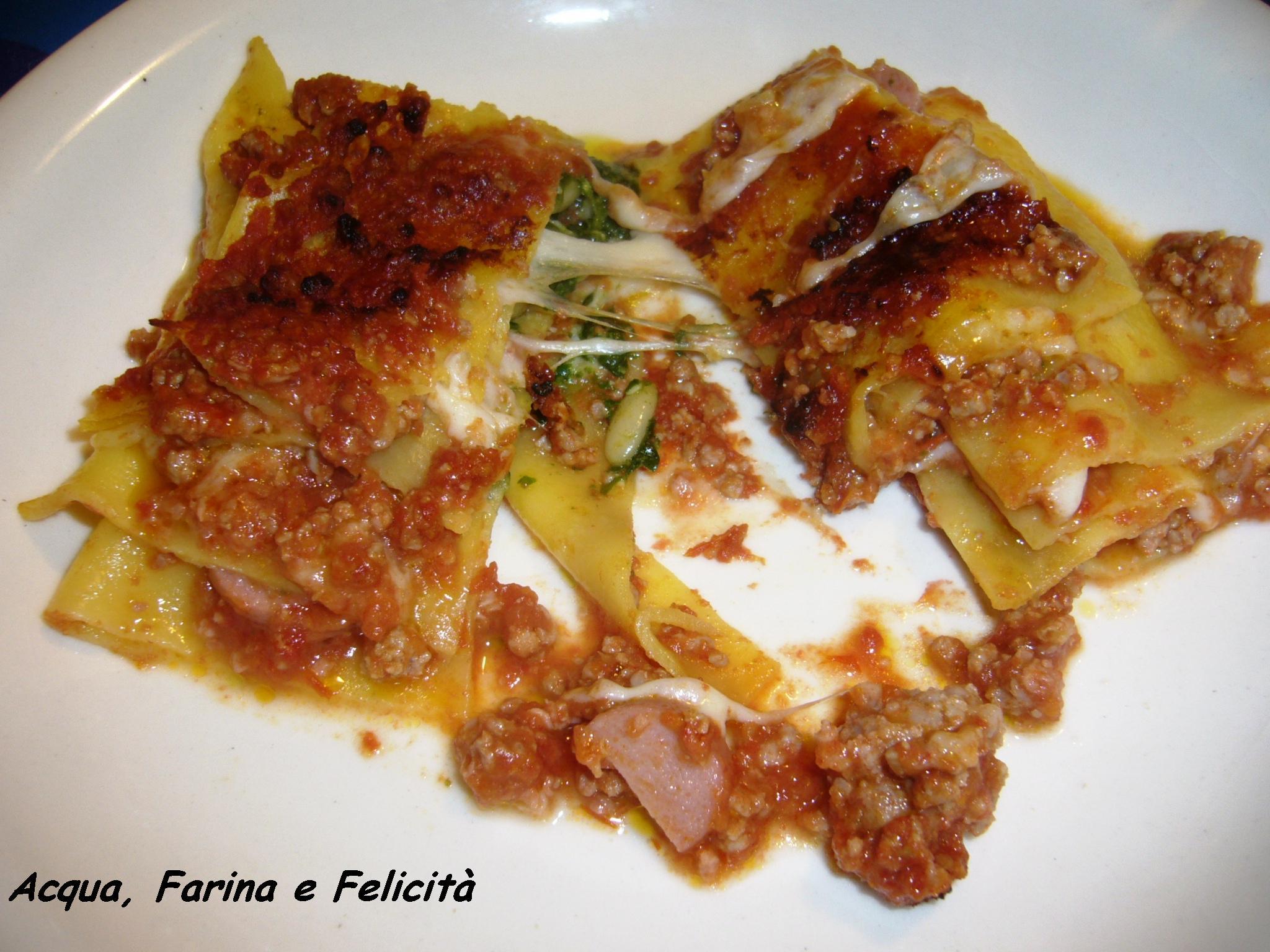 Lasagne con pesto alla genovese