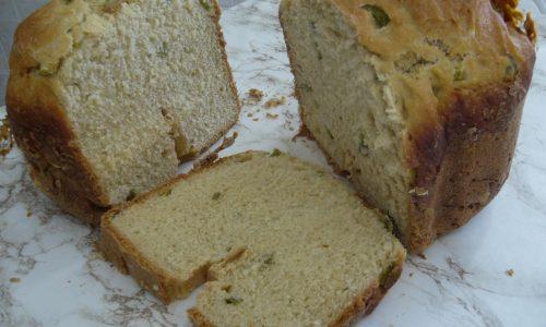 Pan Carré di Grano Duro ai Peperoni con Macchina del Pane