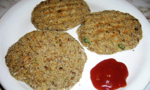 Burger di Lenticchie e Patate con Impanatura Integrale ai Semi Vari