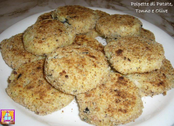 Polpette di Patate, Tonno e Olive