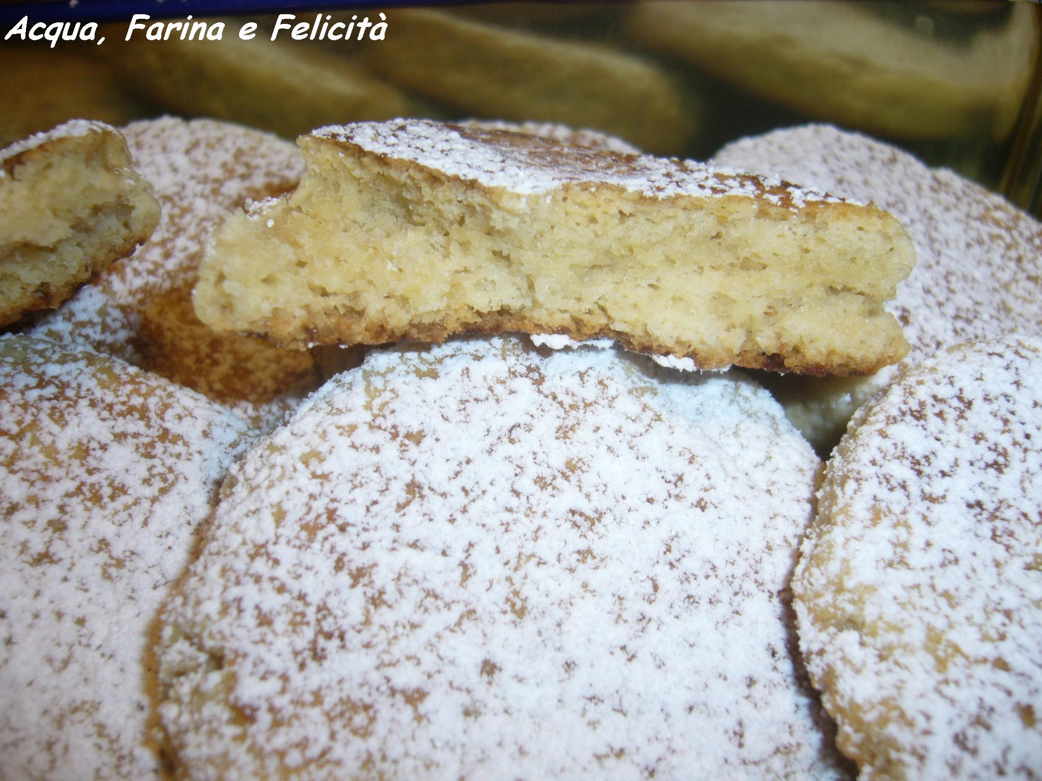Biscotti al burro senza uova cotti in padella