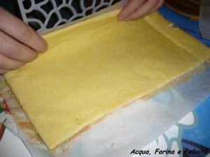 rotolo pasta biscotto