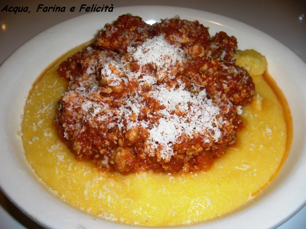 polenta pumpkin polenta polenta with sugo finto recipes finto sugo ...