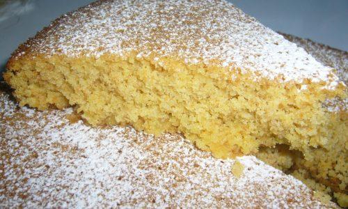 Torta di Carote e Mandorle senza Glutine e senza Lattosio