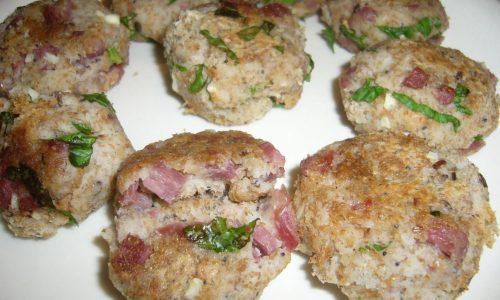 Polpette di Pane e Salame senza Uova
