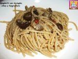 spaghetti acciughe olive pangrattato