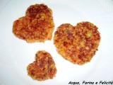 Cuori di Rosti di patate e peperoni