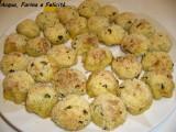 Polpette di patate e basilico senza uova