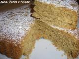 torta vegana con maionese