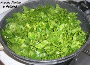 spinaci in padella