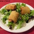 rotolini di pancarrè con prosciutto cotto e formaggio