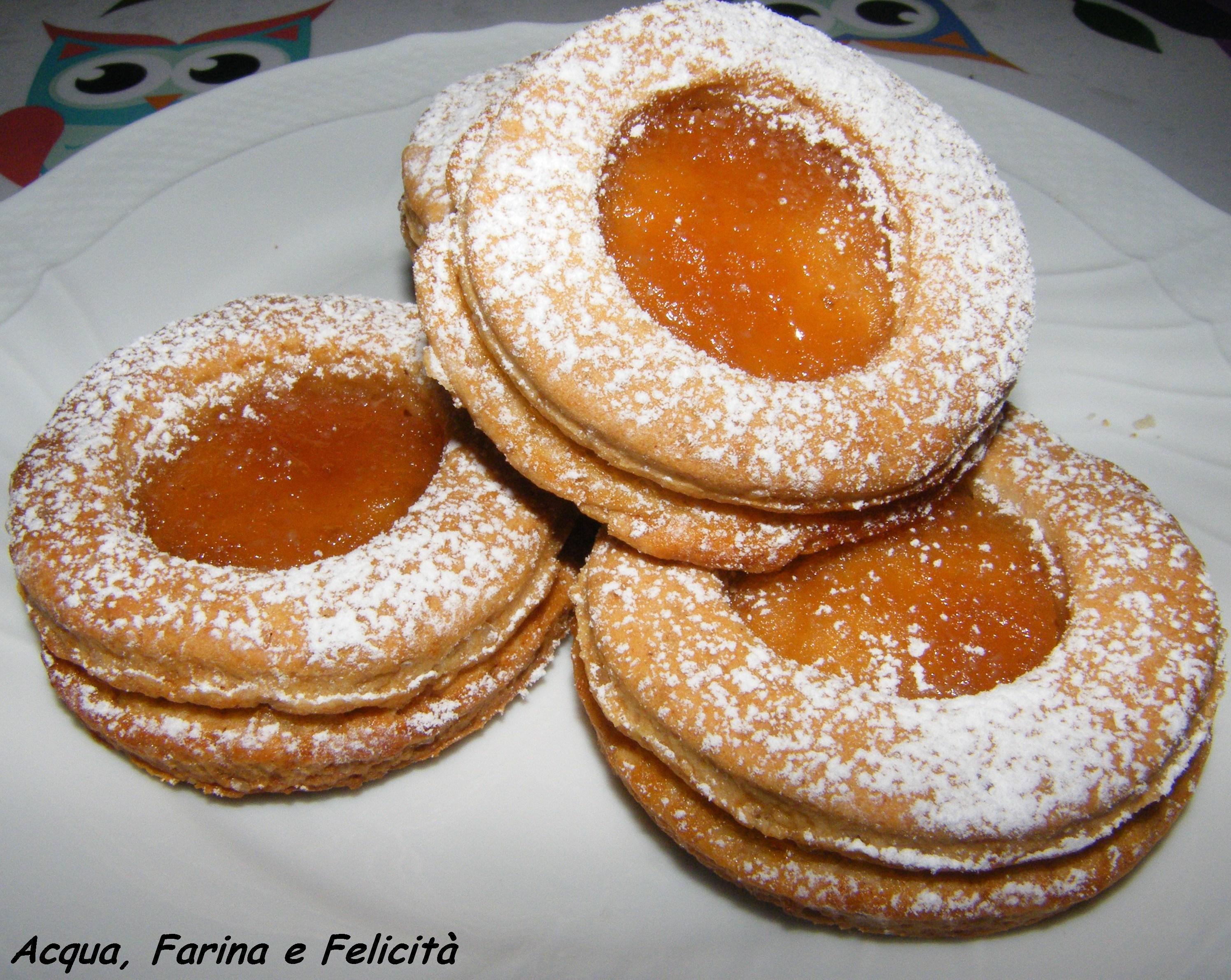Favorito Biscotti Occhio di Bue Vegan | Acqua, Farina e Felicità ID17