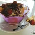 Coppetta di Charlotte allo Yogurt con Cioccolato e Fragoline di Bosco