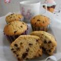 Muffins con Gocce di Cioccolato senza Latticini