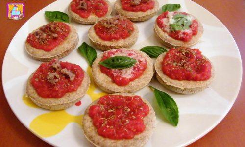 Pizzette Integrali senza Lievito in Padella