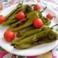friggitelli e pomodorini arrostiti