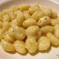 gnocchi di patate cacio e pepe
