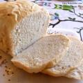 pan bauletto con macchina del pane