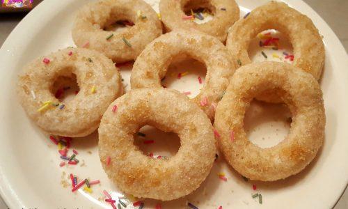 Ciambelline Dolci Fritte di Pasta di Pane