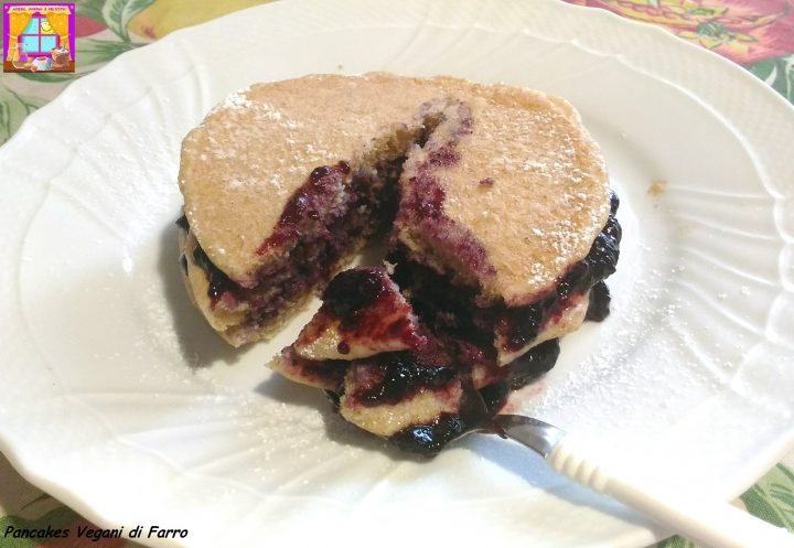 Pancakes Vegani di Farro