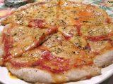 pizza margherita vegana