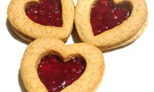 Biscotti Vegani di San Valentino
