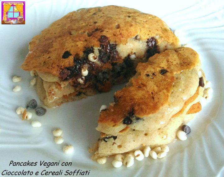 Pancake vegano cioccolato
