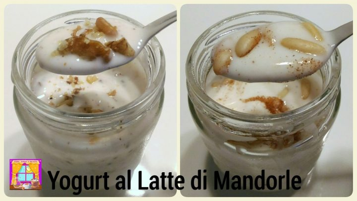 yogurt di mandorle