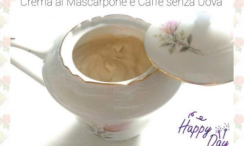 Crema al Mascarpone e Caffè senza Uova