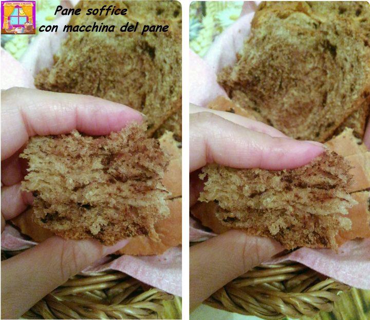 Pane soffice con macchina del pane